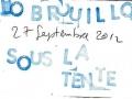 [JO BROUILLON ² Sous La Tente] 27 septembre 2012 (1)