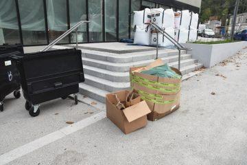 fourche, rue pierre curie, avenue jean jaures, cenon, 23 octobre 2017
