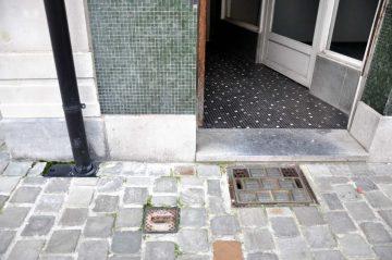 rue du canal, bruxelles, 22 janvier 2014