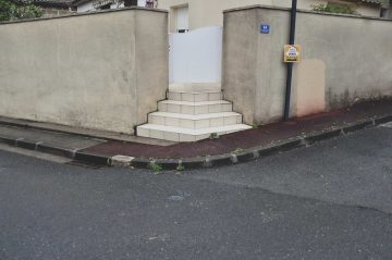 rue du marechal gallieni, cenon, 08 mars 2017