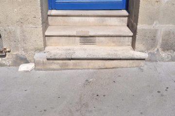 rue georges bonnac, bordeaux, 24 aout 2015