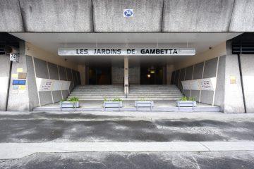 rue georges bonnac, meriadeck, 25 janvier 2019